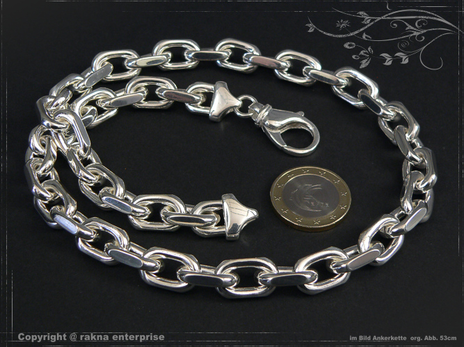 Anchor Chains 925 sterling silver 10mm solid