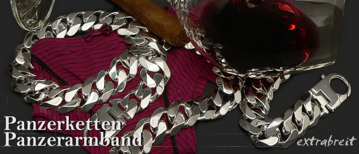 Curb Chains - Bracelets Extra  solid 925 Sterling Silver
