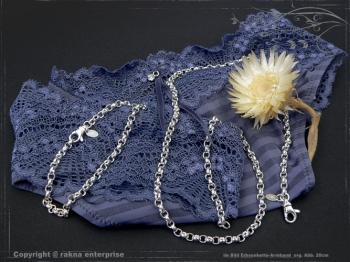 Silberkette Erbsenkette Armband B4.0L18