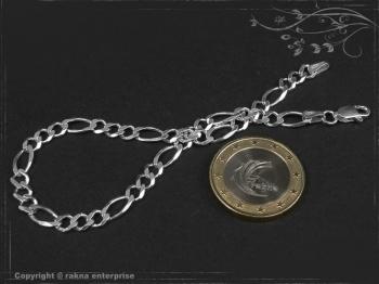 Figaro-Curb Chain Bracelet B4.5L17