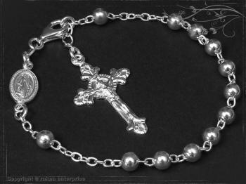Rosenkranz Armband Design-Kugel-L23