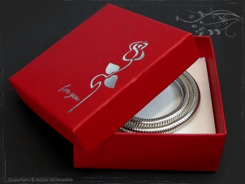 Gift packaging for your silver chains - Bracelets RRK