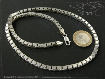 Silberkette Venezia B4.5L100