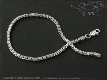Silberkette Armband Venezia B2.5L22