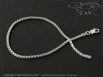 Silberkette Armband Venezia B2.0L25