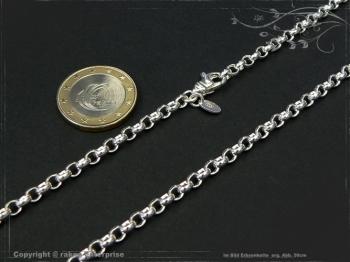 Silberkette Erbsenkette B4.0L40