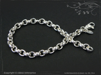 Silberkette Erbsenkette Armband B5.5L19