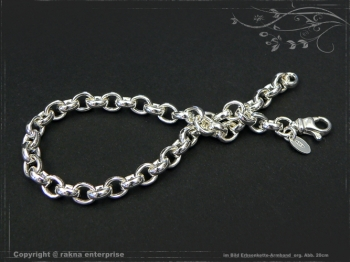 Silberkette Erbsenkette Armband B5.5L17