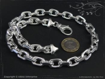 Ankerkette B10.0L85 massiv 925 Sterling Silber