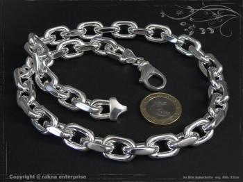 Ankerkette B12.0L65 massiv 925 Sterling Silber