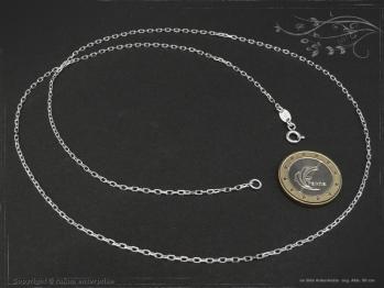 Ankerkette B1.7L80 massiv 925 Sterling Silber