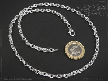 Ankerkette B4.5L40 massiv 925 Sterling Silber