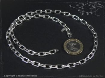 Ankerkette B5.5L95 massiv 925 Sterling Silber