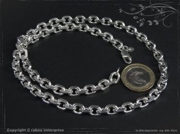 Ankerkette B6.5L70 massiv 925 Sterling Silber