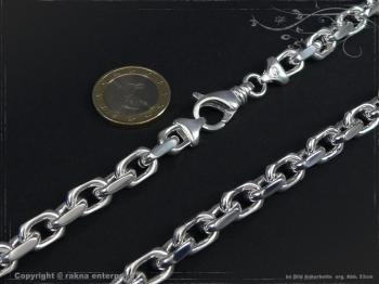 Ankerkette B8.0L95 massiv 925 Sterling Silber