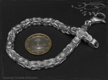 Königskette Armband B6.0L20 massiv 925 Sterling Silber