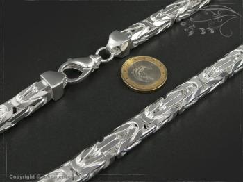 Königskette B10.0L60 massiv 925 Sterling Silber
