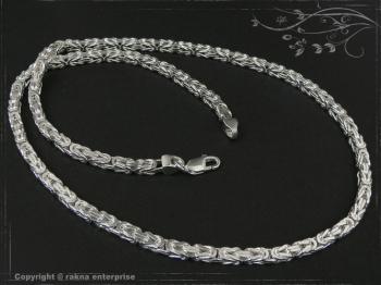 Königskette B4.5L50 massiv 925 Sterling Silber