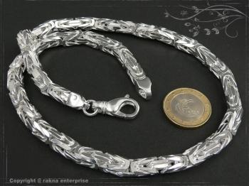 Königskette B7.0L70 massiv 925 Sterling Silber