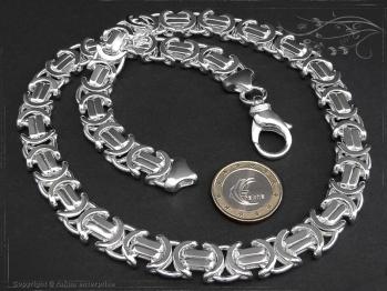 Königskette Flach B11.0L75 massiv 925 Sterling Silber