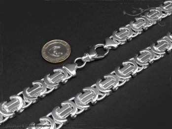 Königskette Flach B14.0L45 massiv 925 Sterling Silber