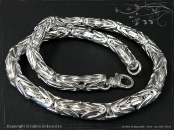 Königskette Rund B10.0L75 massiv 925 Sterling Silber