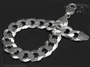 Panzerarmband B12.0L25 massiv 925 Sterling Silber