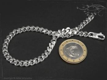 Panzerarmband B5.0L17 massiv 925 Sterling Silber
