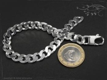 Panzerarmband B8.0L24 massiv 925 Sterling Silber