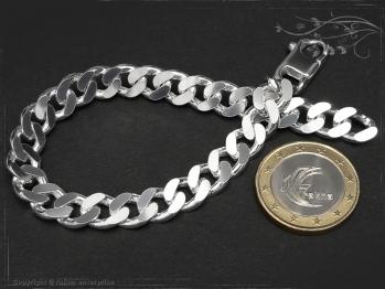 Panzerarmband B8.0L17 massiv 925 Sterling Silber