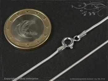 Schlangenkette Armband D1.2L21 massiv 925 Sterling Silber