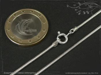 Schlangenkette Armband D1.4L16 massiv 925 Sterling Silber