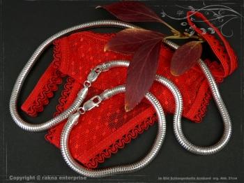 Schlangenkette Armband D6.0L20 cm massiv 925 Sterling Silber