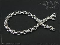 Silberkette Erbsenkette Armband B5.5L25