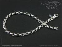 Silberkette Erbsenkette Armband B4.0L17