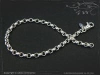 Silberkette Erbsenkette Armband B4.0L24
