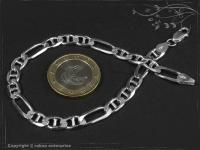 Figarucci-Curb Chain Bracelet B5.5L19