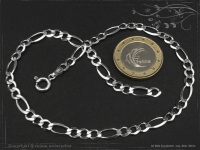 Anklet Figaro Chain B4.5L26