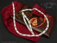 Design Armband Keramik-Edelstahl weiß 17.5cm