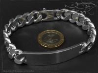 Curb Chain ID-Bracelet  B12.5L19