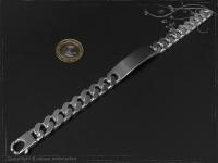ID Panzerarmband Gravur-Platte B12.5L20