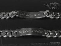 Curb Chain ID-Bracelet  B12.5L23