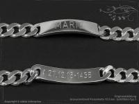 ID Panzerarmband Gravur-Platte B10.5L18