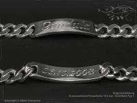 Curb Chain ID-Bracelet  B10.5L23