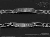 Figaro Chain ID-Bracelet  B10.0L21