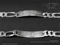Figaro Chain ID-Bracelet  B10.0L24