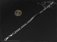 ID Figaroarmband Gravur-Platte B5.5L17