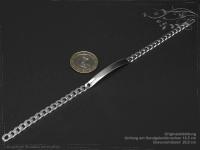 Curb Chain ID-Bracelet  B5.5L20