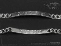 Curb Chain ID-Bracelet  B5.5L22