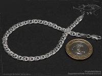 Double Curb Chain bracelet B4.6L18